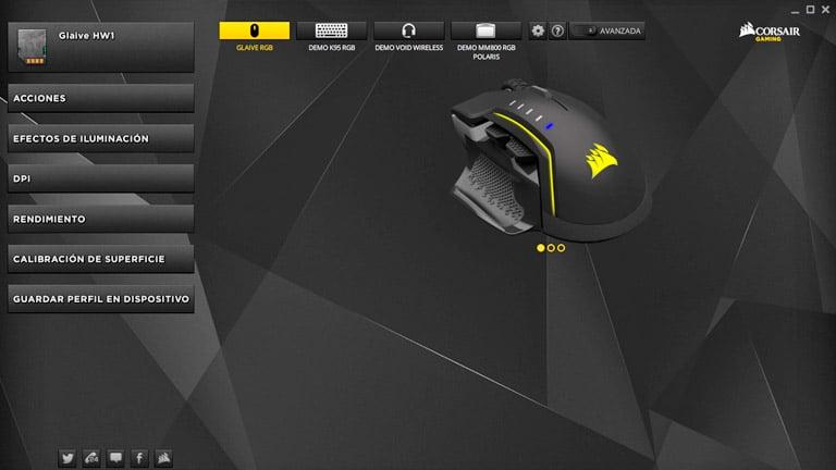 configurar mouse