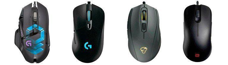 tipos de mouse gamer