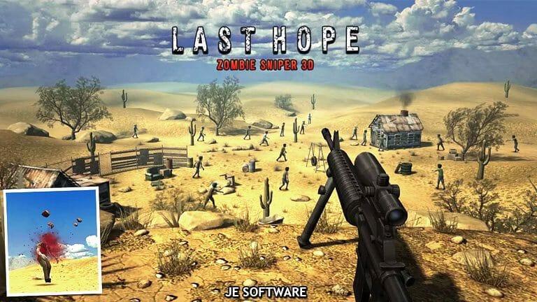 Last Hope Zombie sniper 3d para PC