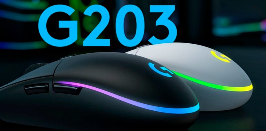 logitech g203