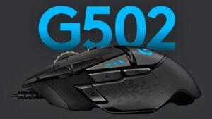 Logitech G502 Mouse el ratón gaming para juegos del año