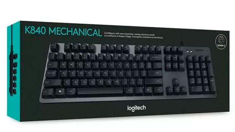 Logitech K840