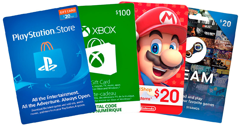games gift card