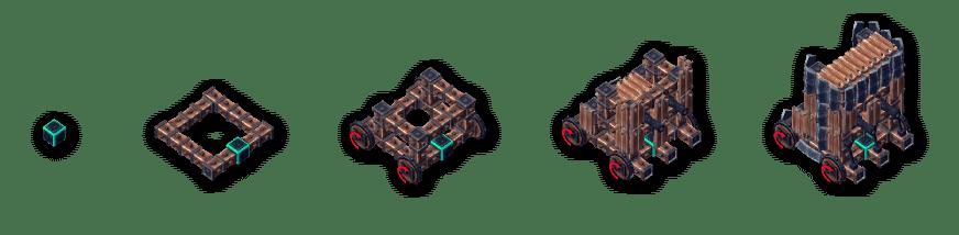 besiege-construir