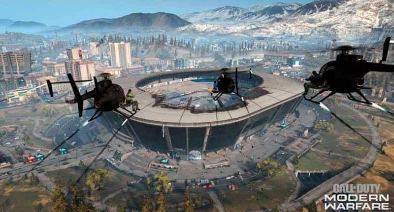 Warzone Estadio Bunker