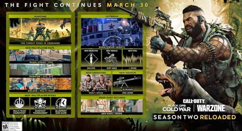call of duty season 2