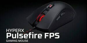 Lee más sobre el artículo HyperX Pulsefire FPS Ratón Gaming 3200 DPI