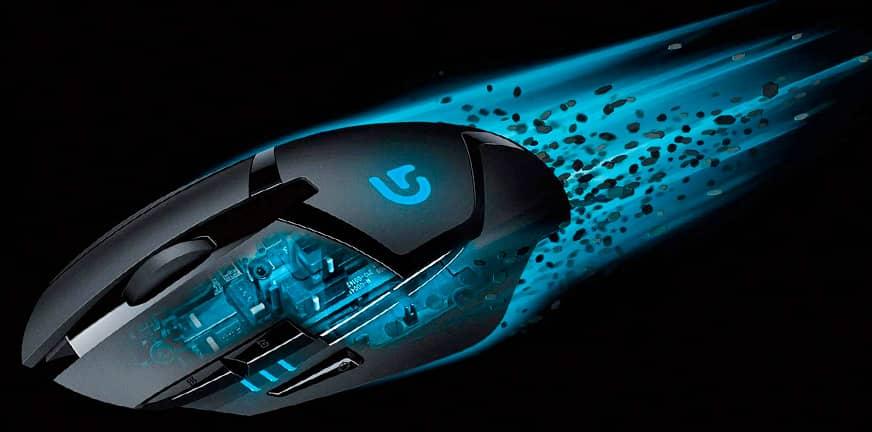 Lee más sobre el artículo Logitech G402 Hyperion Fury 8 botones